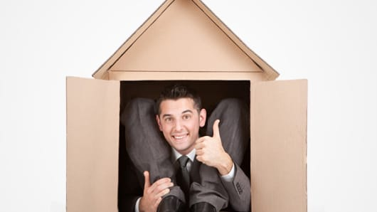 housing man thumbs up humor