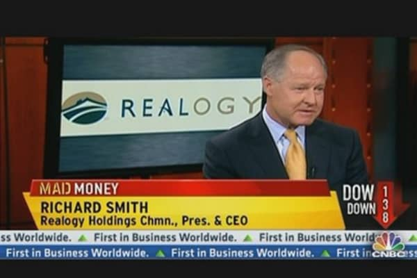 Realogy CEO: We're Very Bullish Now