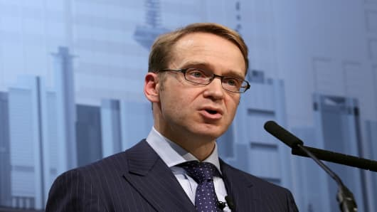 ECB Governing Council member and president of the Deutsche Bundesbank Jens Weidmann