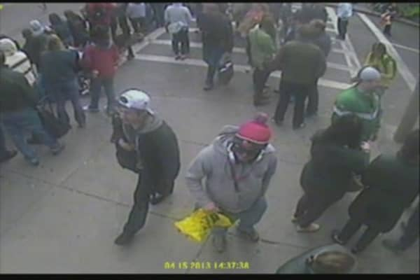 FBI Surveillance Footage of 'Suspects'