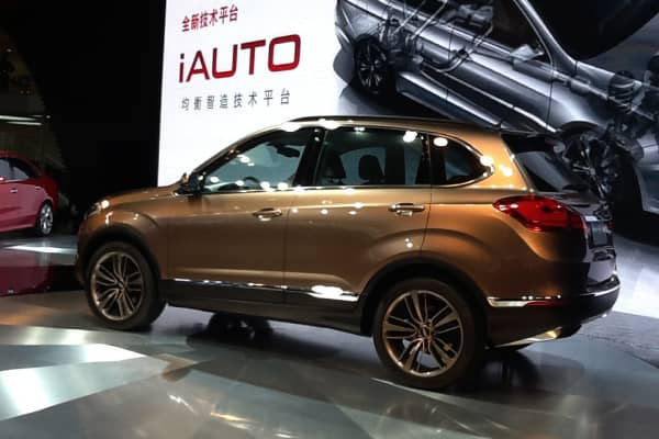 Chery SUV concept at the Shanghai Auto Show