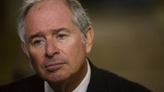 Stephen A. Schwarzman, chairman of the Blackstone Group