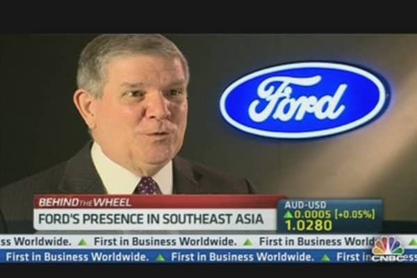 Ford Kicks Into High Gear at Shanghai Auto Show