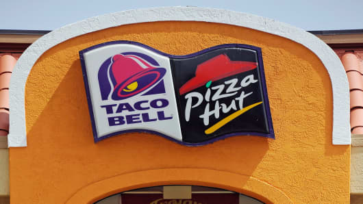 Yum Brands Taco Bell Pizza Hut