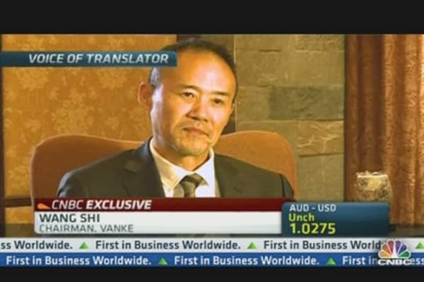 Vanke: China Property Bubble Needs Control