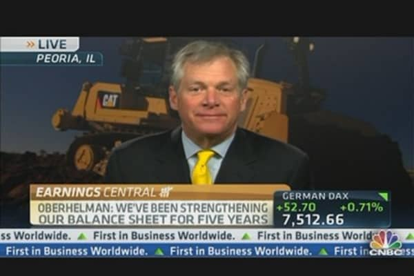 Caterpillar Slashes Outlook; Q1 Profits Fall