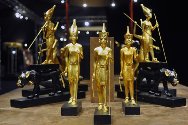 King Tut treasures