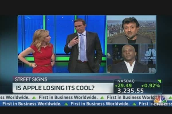 Apple Losing its Cool?