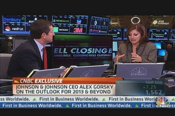 Johnson & Johnson CEO Shares 2013 Outlook