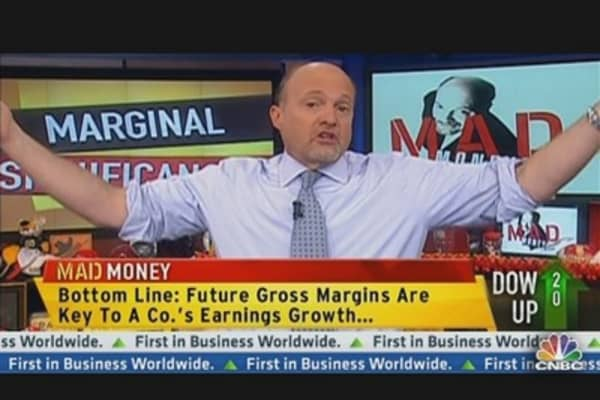 Cramer: Gross Margins Are Easy