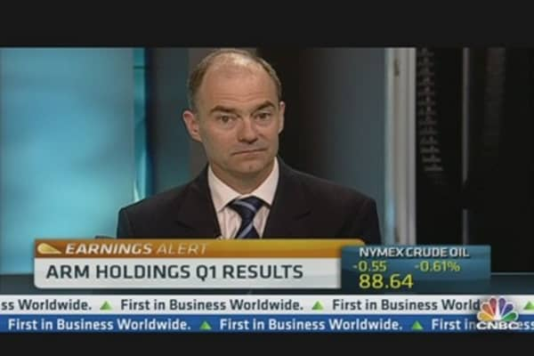 ARM Holdings CEO:  Earnings on Track