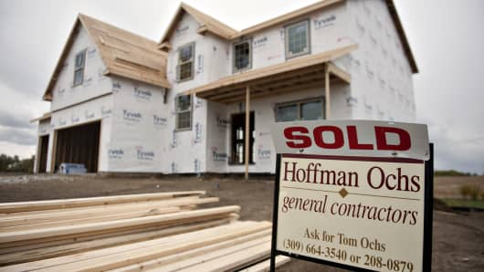 New housing starts real estate markets