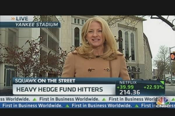 Biggest Hedge Fund Players Gather at Yankee Stadium
