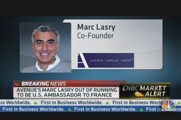 Avenue's Marc Lasry Out