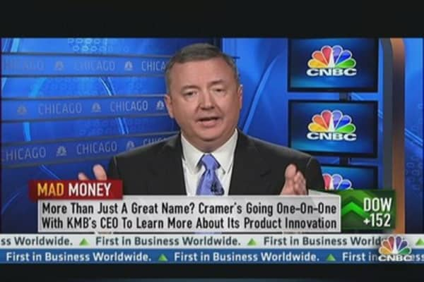 KMB in a Sweet Spot: Cramer