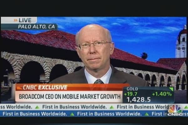 Mobile Growth Boosts Broadcom's Earnings