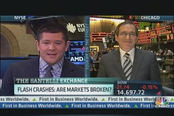 Do Flash Crashes Signal Broken Market?