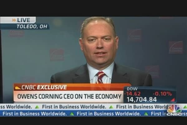 Owens Corning CEO on Strong Q1