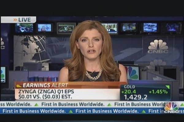 Zynga Q1 Revenues: $230 Million