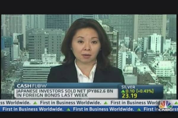 Japanese Remain Net Sellers of Foreign Bonds