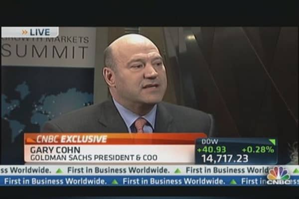 Goldman's Global Search For Growth: Cohn