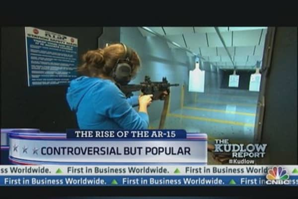AR-15 Rifle: Controversial, But Popular