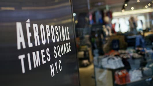 Aeropostale store in Times Square