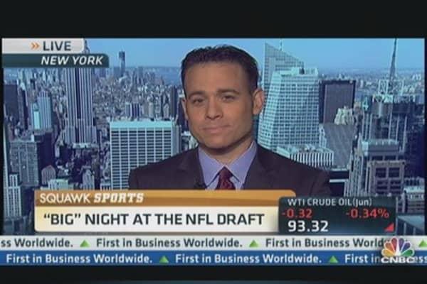 Wild Night of Surprises at NFL Draft