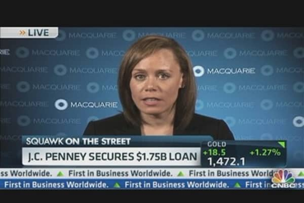 JC Penney Secures $1.75 Billion Loan From Goldman