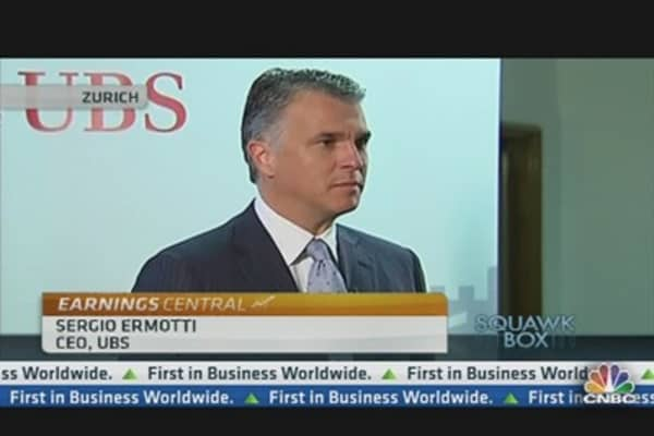 UBS CEO: Staying Very Cautious & Realistic