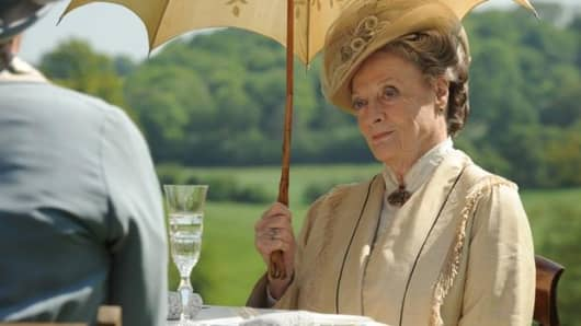 A still from the British drama series, Downton Abbey.