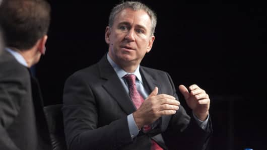 Ken Griffin speaks at the 2013 Milken Institute Global Conference.