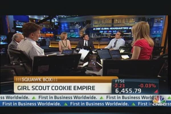 Big Business of Girl Scout Cookies