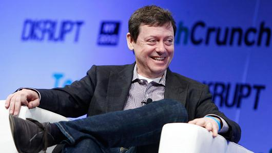 Fred Wilson of Union Square Ventures at TechCrunch Disrupt NY 2013 in New York