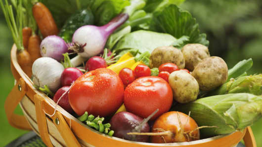 produce vegetables food products