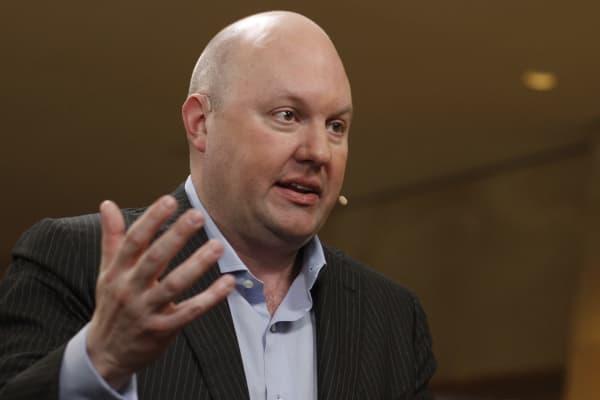 Marc Andreessen, co-founder and partner of Andreessen Horowitz.