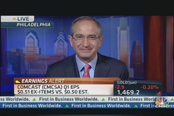 Comcast CEO Roberts: 'Whole Year Off to a Great Start'