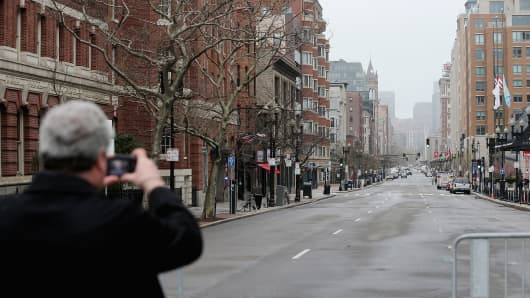 The Price Boston Pays- Deserted Streets