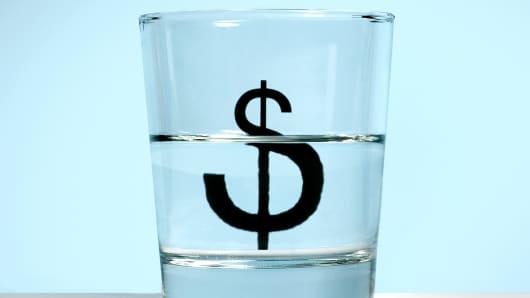 Glass half full economy