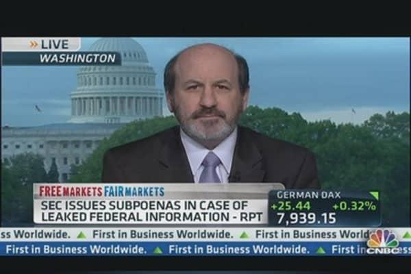 SEC Investigates Insider Trading Leaks