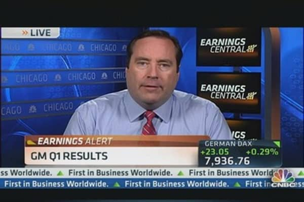 GM Q1 Earnings Beat Top & Bottom Line