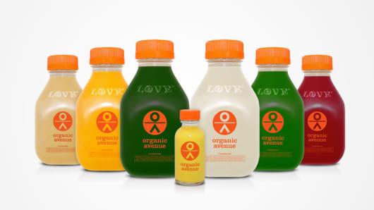 Organic Avenue beverages