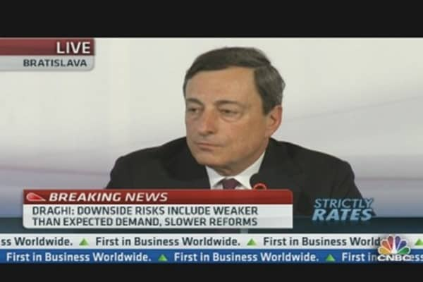 Draghi: We Are Frustrated With Banks