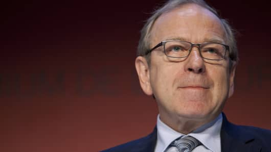Erkki Liikanen, governor of the Bank of Finland