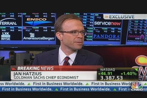 Goldman's Hatzius Reacts to Jobs Report