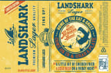 Landshark Zac Brown label.