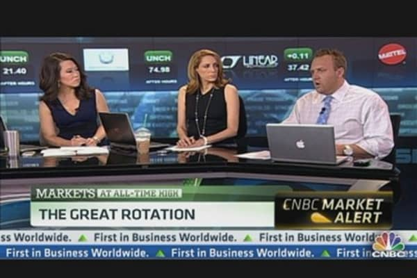 Why Stocks 'Have More Powder': Grasso