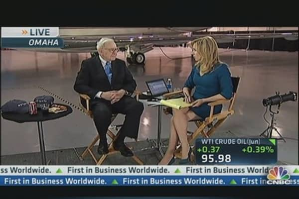 Buffett Expecting Record Earnings in Rail Operations
