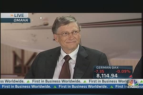 Bill Gates & Warren Buffett on Interest Rates, HFT, & Corporate Boards