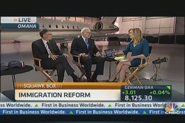 Buffett & Gates on Immigration Reform & Internet Tax Fairness